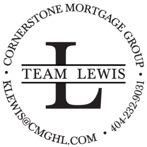 team lewis - cornerstone mortgage logo