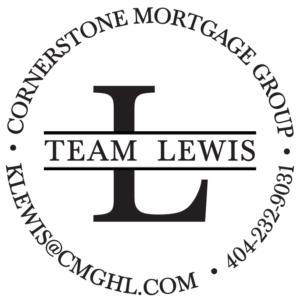 team lewis - cornerstone mortgage logo