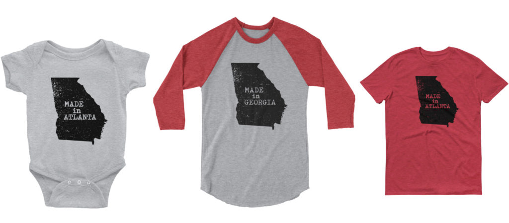 made in atlanta georgia shirts