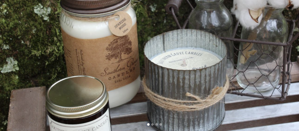 southern grove candles made in georgia